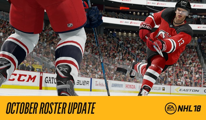 NHL 18 October Roster Update aa54097951f