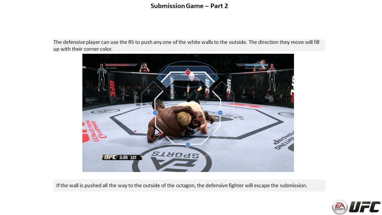 Second Step Submission Controls - EA Sports UFC