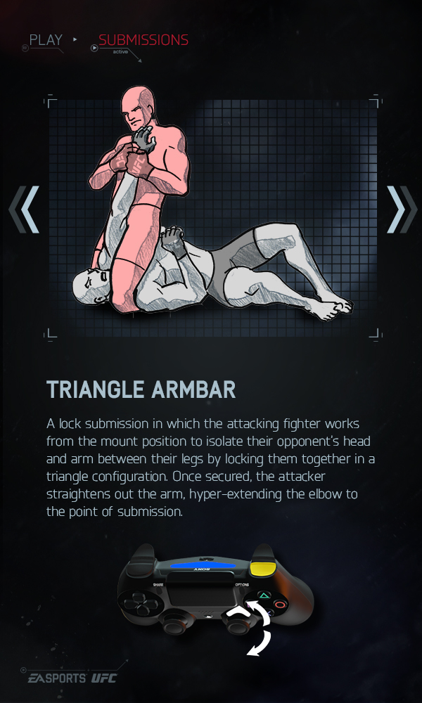 Triangle Armbar - EA Sports UFC