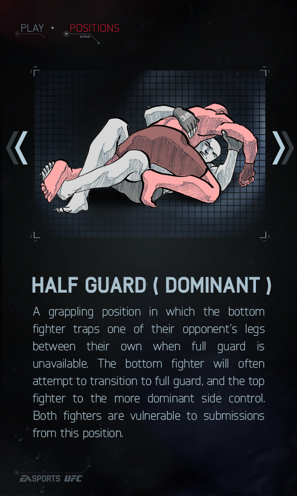 Half Guard (Dominant) - EA Sports UFC