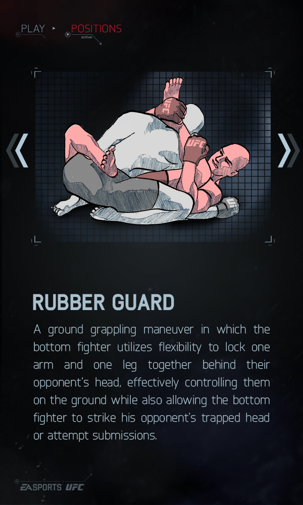 Rubber Guard - EA Sports UFC