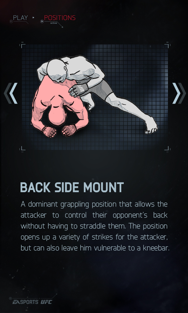 Back Side Mount - EA Sports UFC