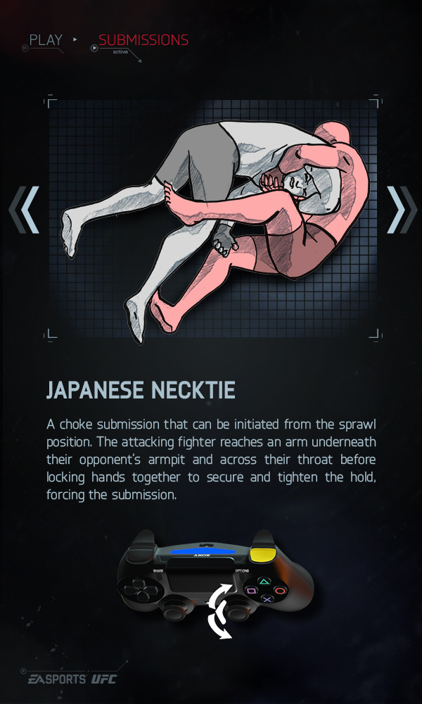 Japanese Necktie - EA Sports UFC