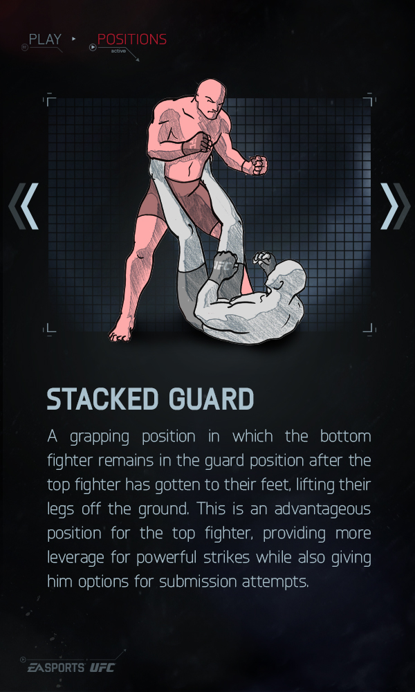 Stacked Guard - EA Sports UFC