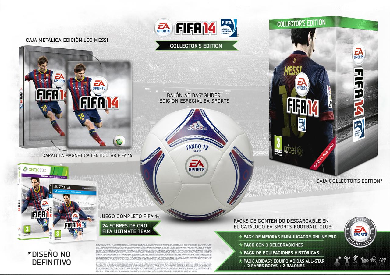 Celsius Arruinado Arrastrarse  Ediciones especiales de FIFA 14