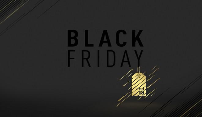 Evento de Black Friday de FUT 18