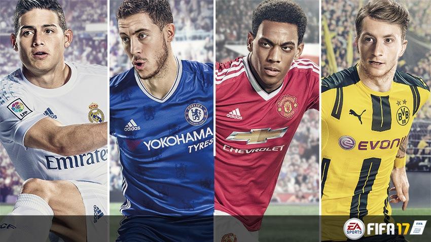 Znalezione obrazy dla zapytania FIFA 17