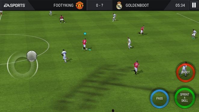 historia serii fifa FIFA gra mobilna