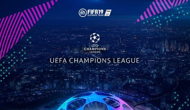 Itens da UEFA Champions League no FIFA 19 Ultimate Team