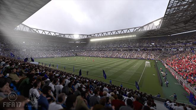 Официальный список стадионов в FIFA 17