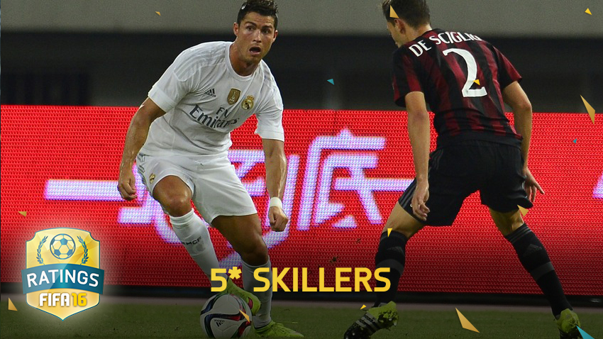 Topp 15: Spelarna med bäst finter på FIFA 16