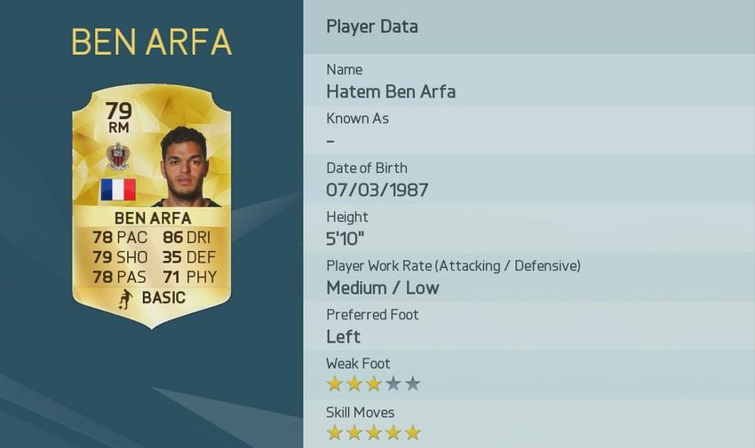 Topp 5- Spelarna med bäst finter på FIFA 16