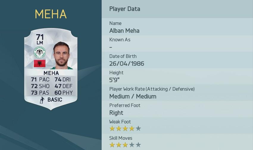 Alban Meha är en av de bästa frisparksskyttarna i FIFA 16