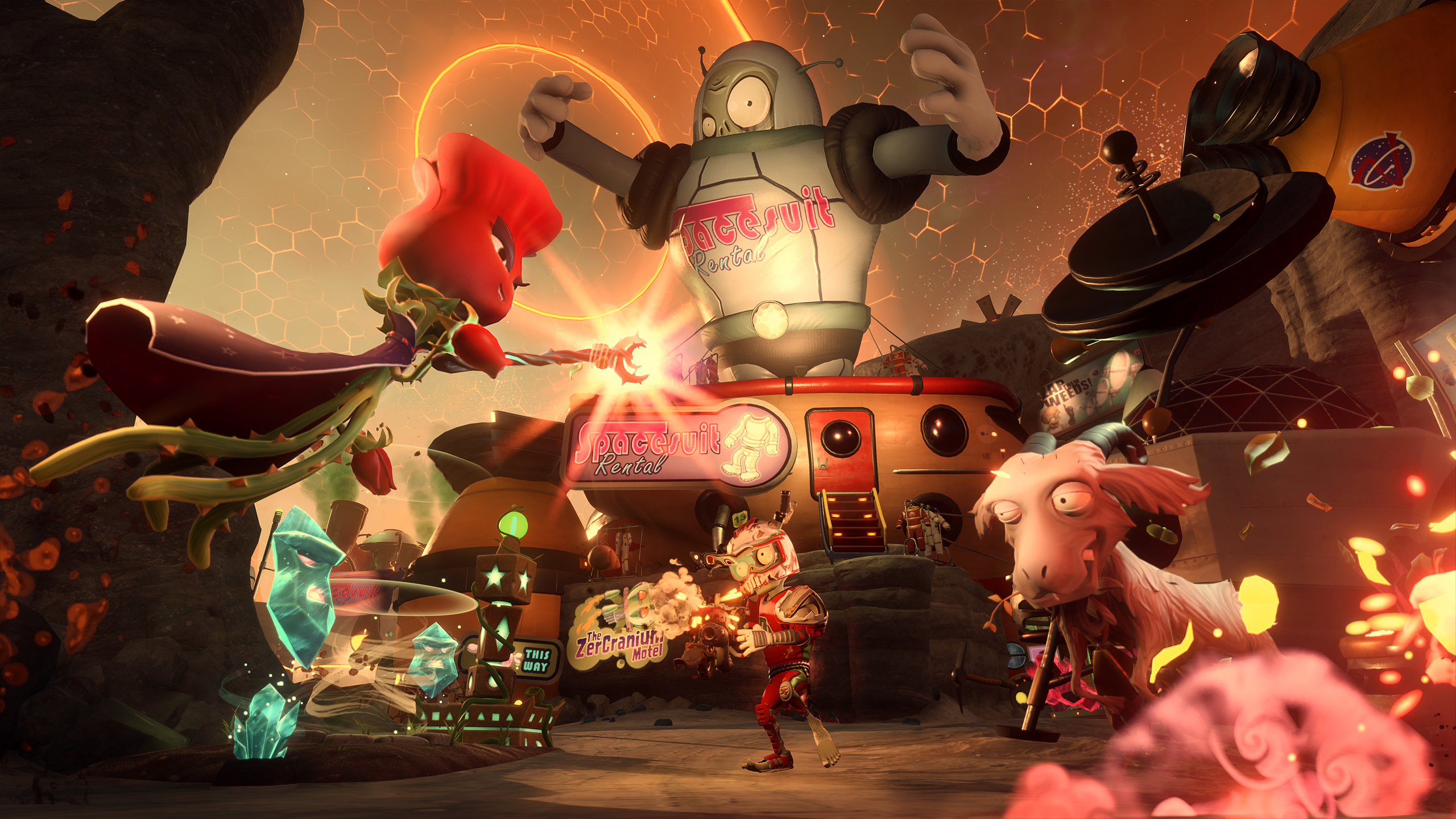 Plants Vs Zombies Garden Warfare 2 Sitio Oficial